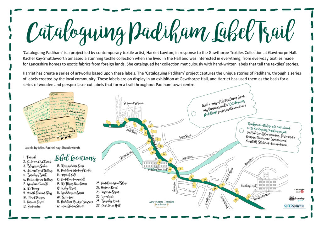 A3 Poster Cataloguing Padiham