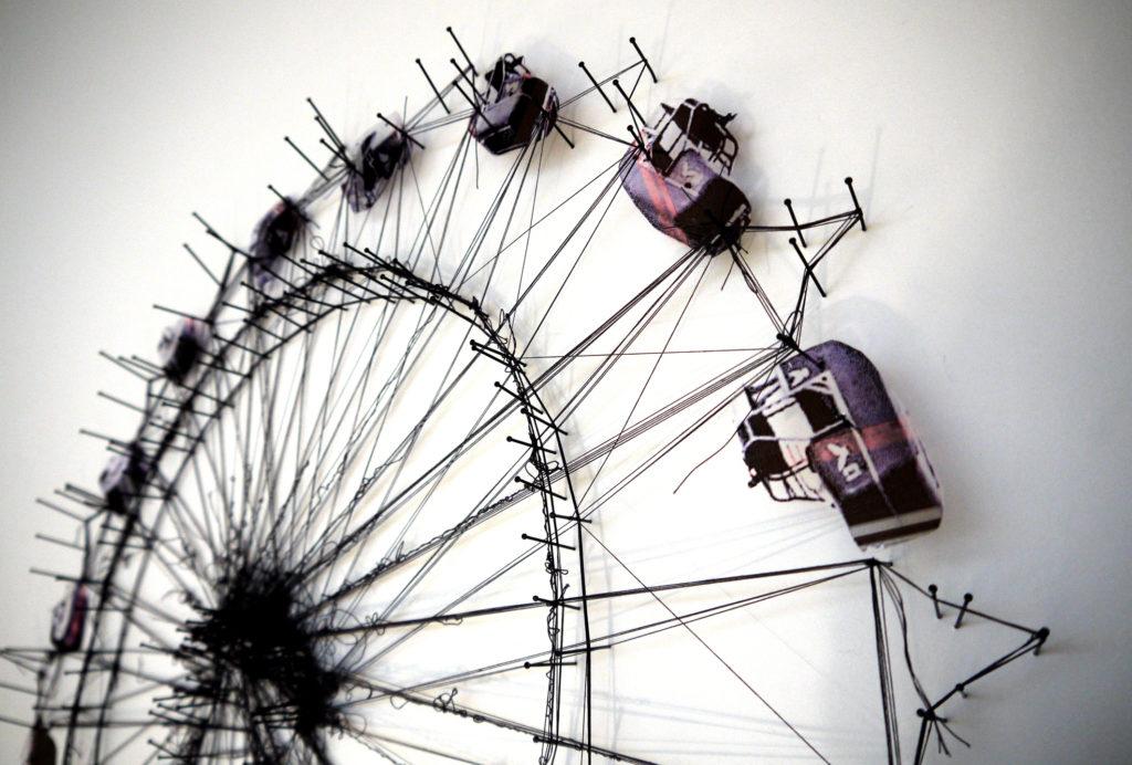 Ferris Wheel 52x52cm +